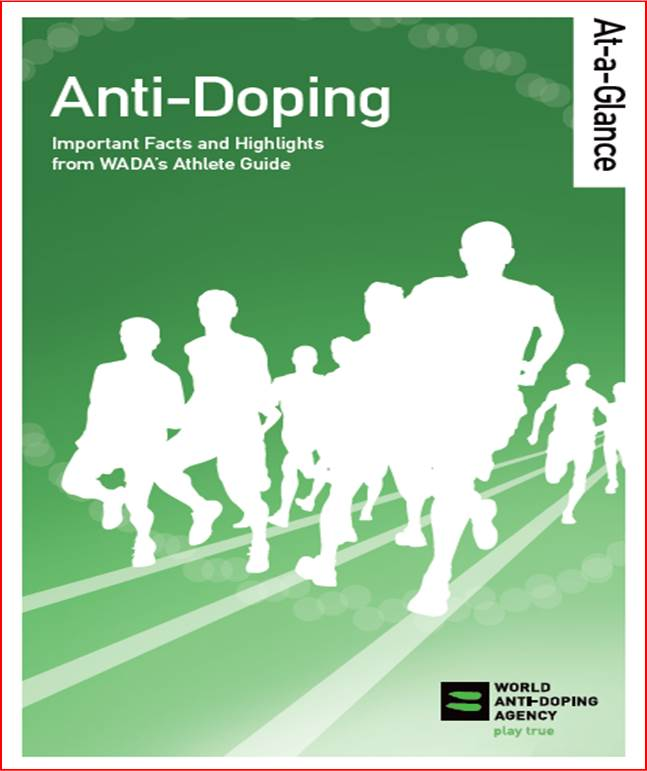 Anti-Doping At-a-Glance